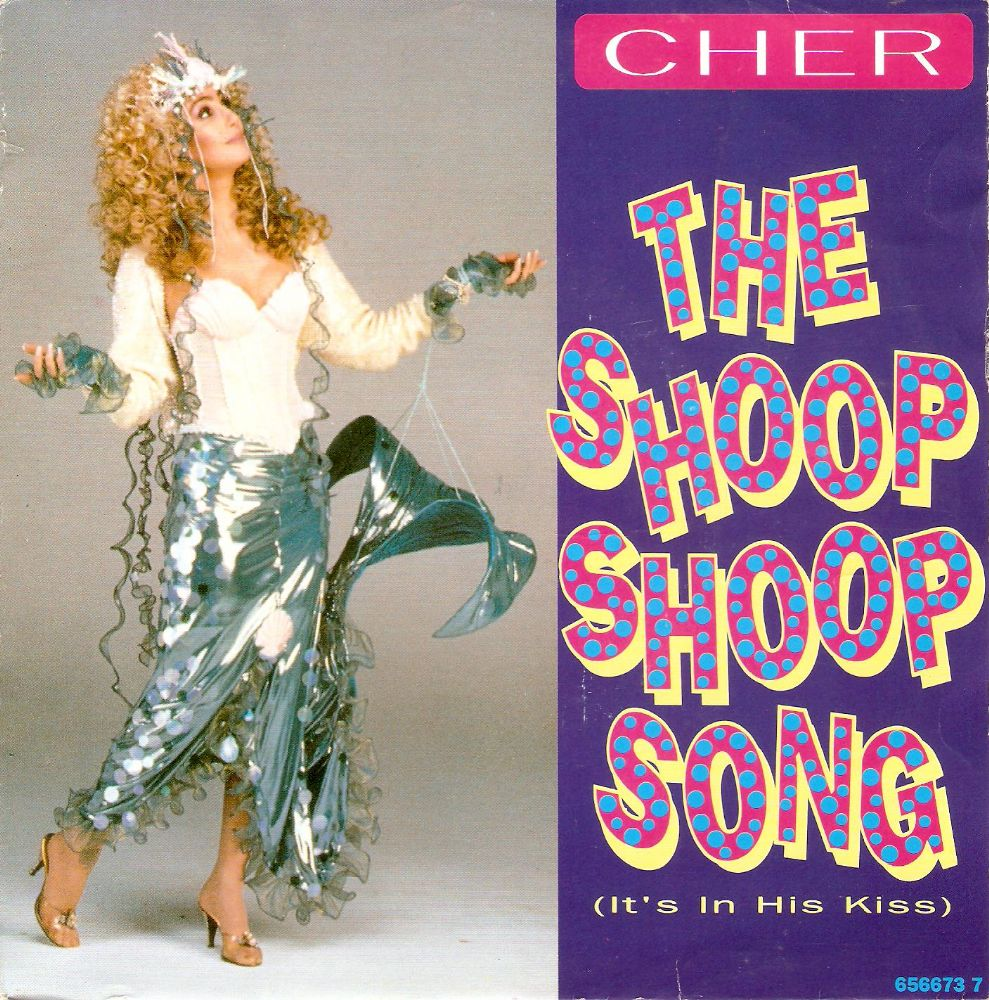 CHER The Shoop Shop Song Vinyl Record 7 Inch Dutch Epic 1991